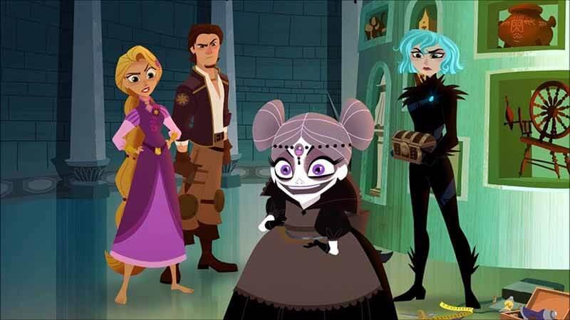 Будет ли выход мультсериала Рапунцель: Новая история 4 сезон