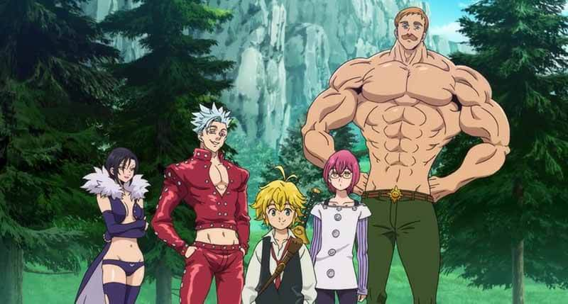 Будет ли показ аниме 5 сезон Семь смертных грехов