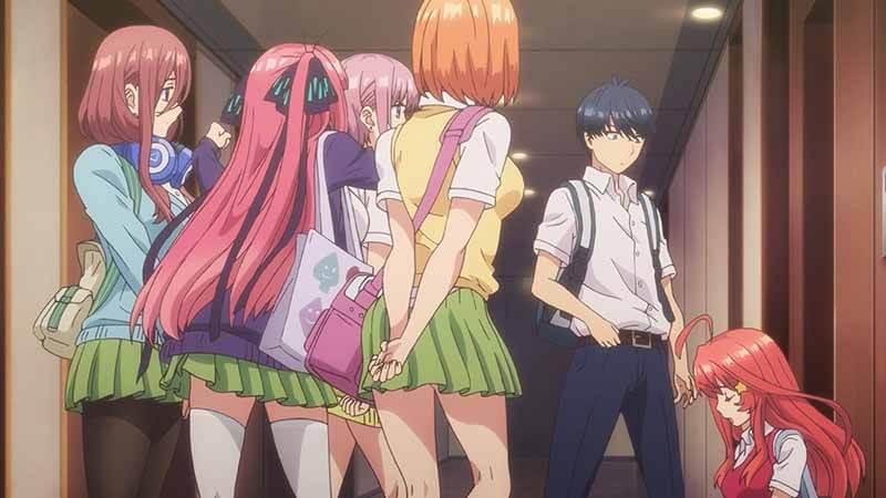 Будет ли показ 3 сезона аниме Пять невест