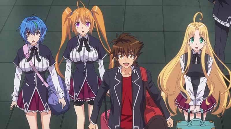 Будет ли показ 5 сезона аниме DxD