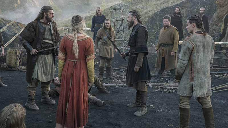 Дата выхода серий 7 сезона в России Викинги
