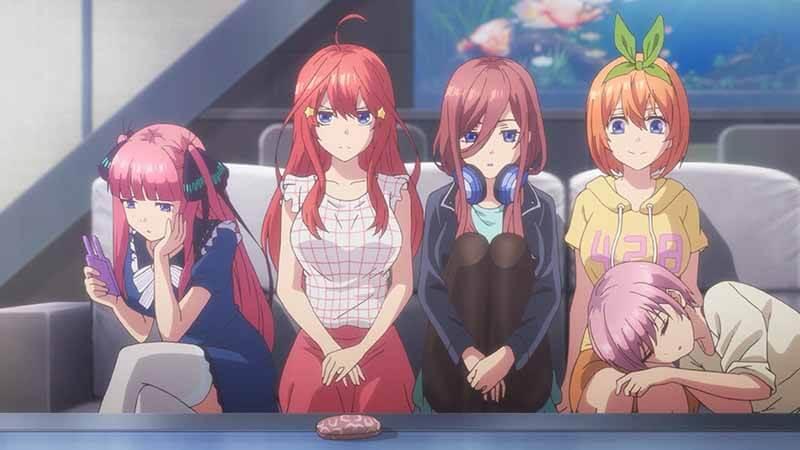 Когда выйдет 3 сезон аниме Пять невест