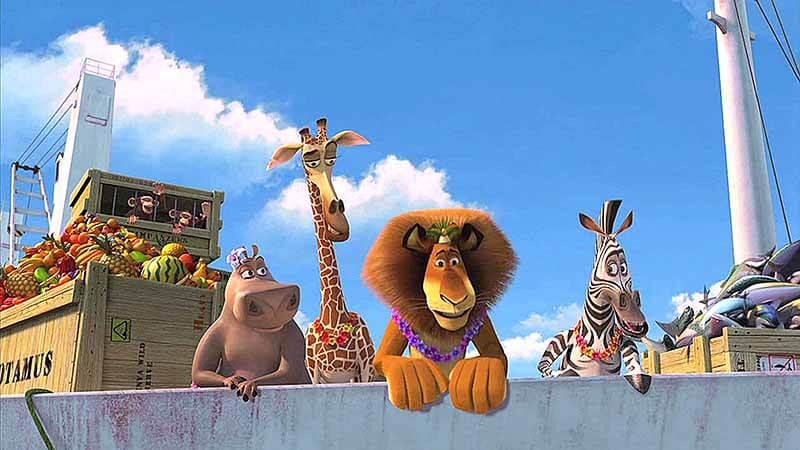 Будет ли показ 4 части мультфильма Мадагаскар