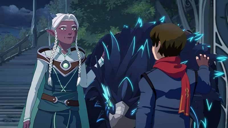 Будет ли показ 4 сезона мультсериала Принц дракон