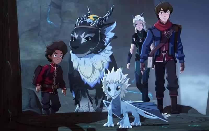 Дата выхода серий 4 сезона в России Принц дракон