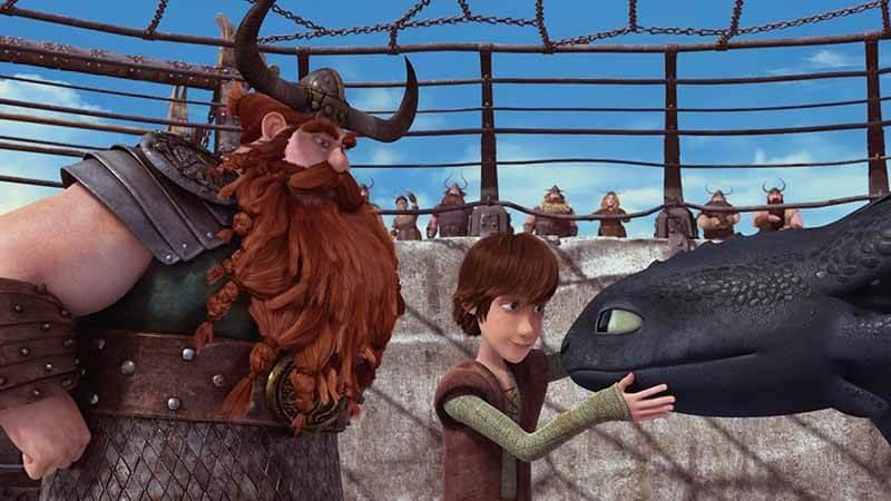 Будет ли показ 4 части мультфильма Как приручить дракона
