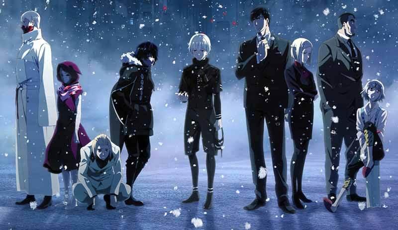Дата выхода серий 5 сезона в России Токийский гуль